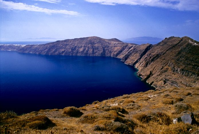 View of Santorini Caldera.
