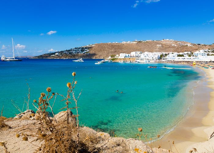 Best Greek island for nightlife: Mykonos.