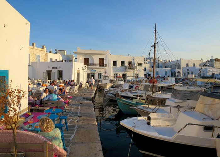 Best Greek island for boutique hotels: Paros.