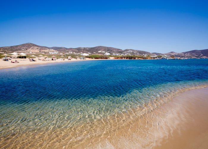 Best Greek Island for quiet and solitude: Antiparos.