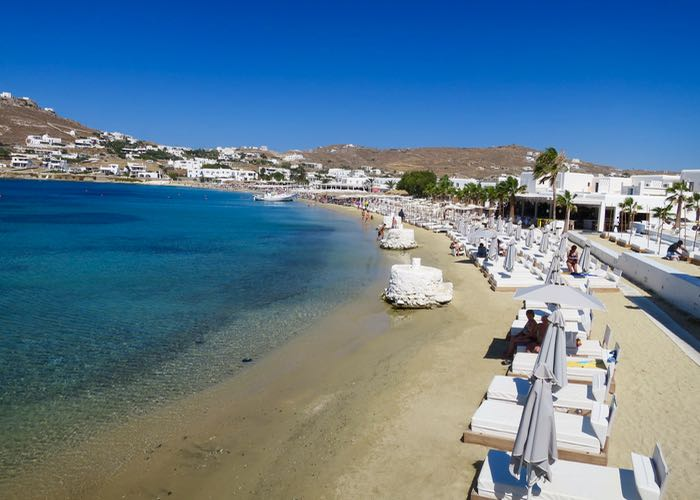 Best Greek island: Mykonos.