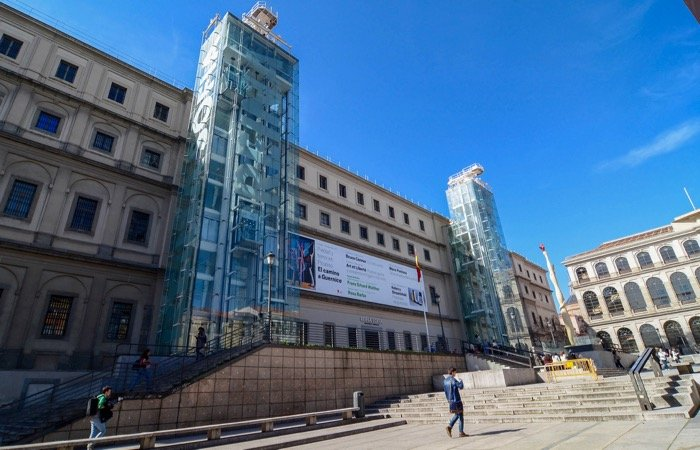 Visiting the Queen Sofia Arts Center in Madrid