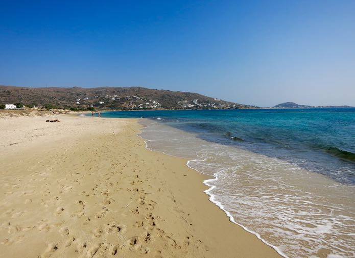 The best beaches in Naxos, Greece.