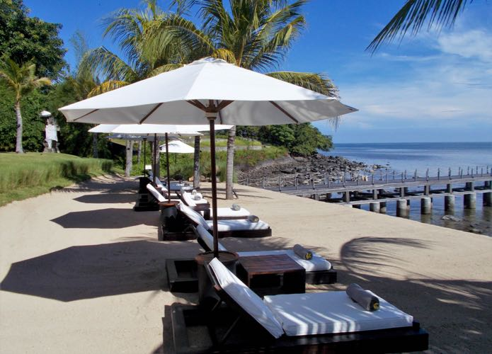 Hotel Beach Resort in Lombok, Indonesia