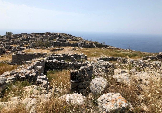 Visiting Ancient Thira