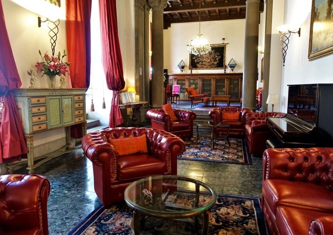 Medieval tower hotel Florence