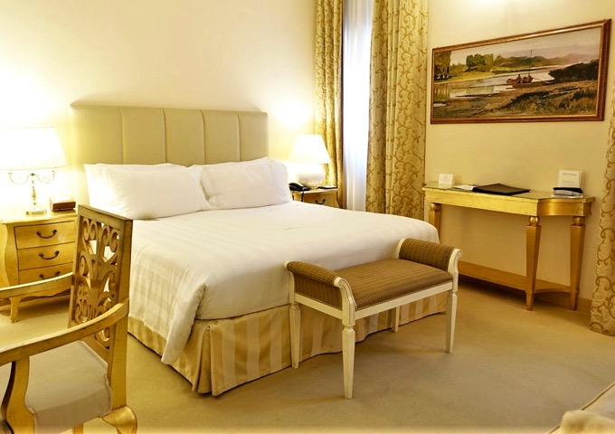 Romantic Florence hotel with spa