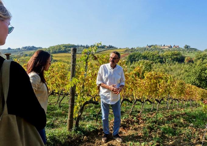 Tuscany boutique vineyard tour Florence