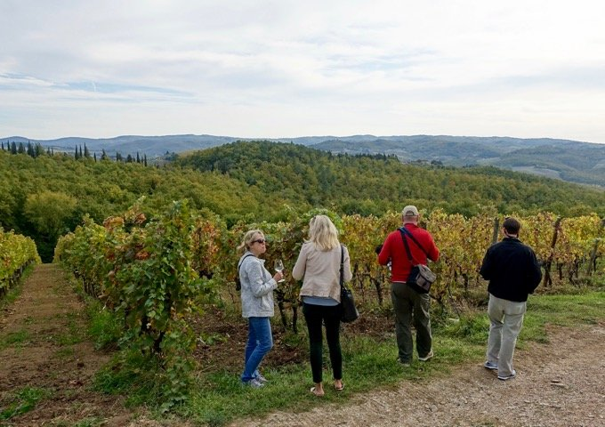 Full day Chianti wine tour from Florence