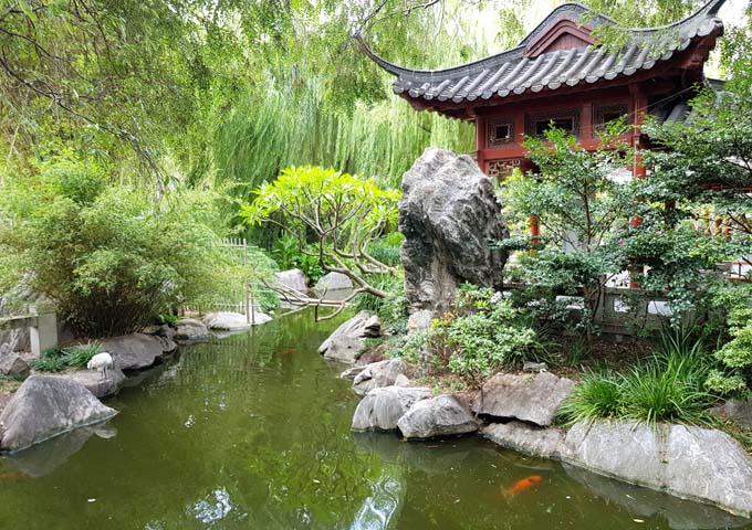 Quaint Chinese Garden of Friendship
