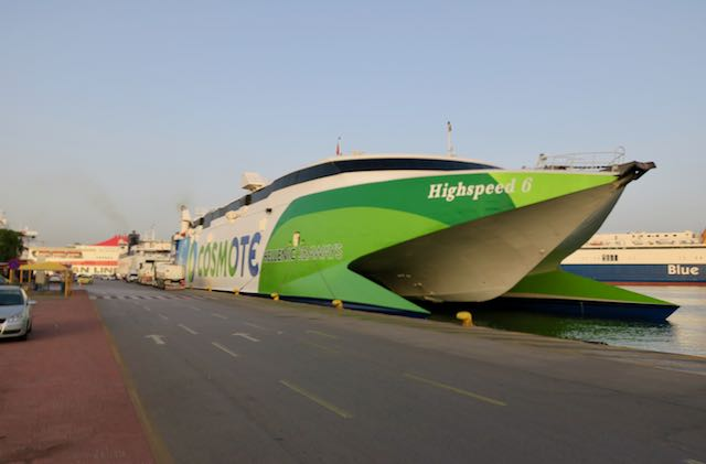 Greek High Speed Ferry
