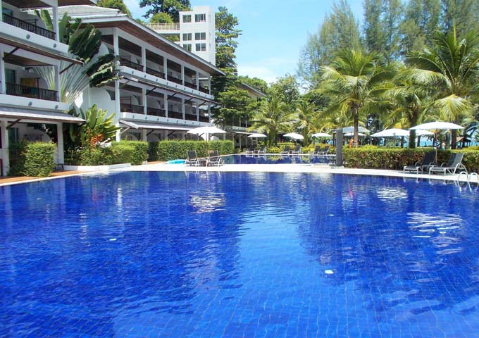 Bright and cheerful pool at adults-only Sensimar Khaolak Resort