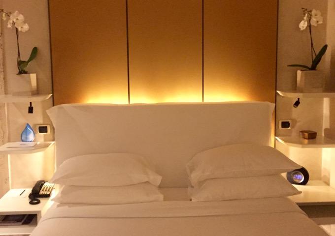 Milan luxury hotel with Michelin-starred restaurants