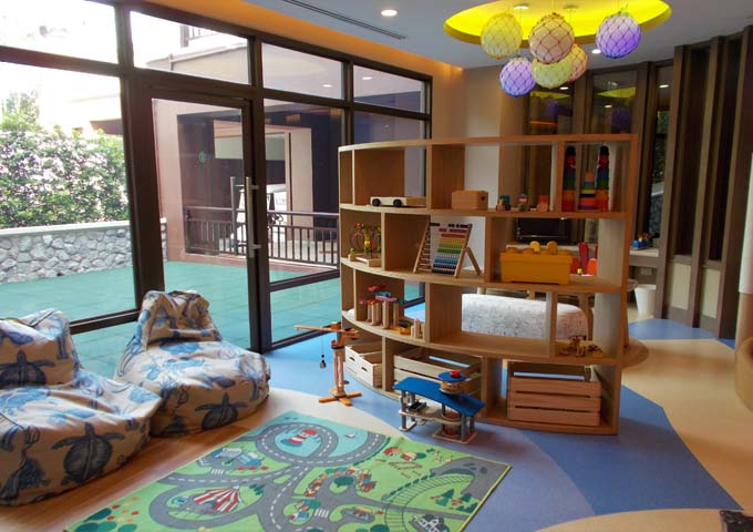 Kids' club with excellent facilities at family-friendly InterContinental