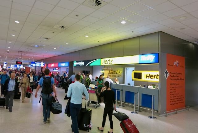 Car Hire Companies at the Athens International Airport