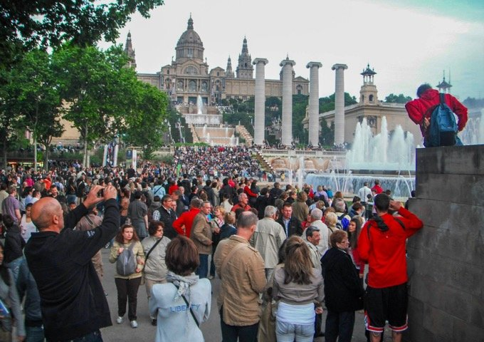 Barcelona's Magic Fountain