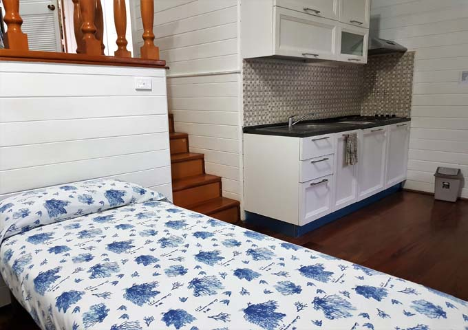 Executive Villas with small kitchenettes.