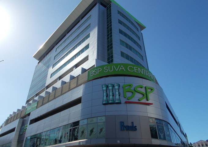 Apartments are in the BSP Suva Central building.
