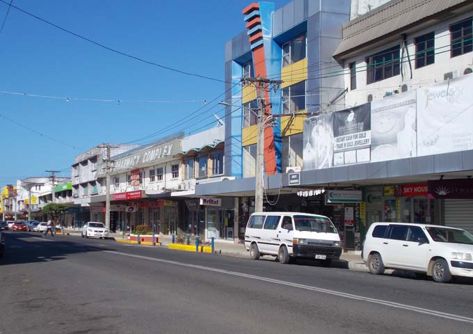 Resort is connected to downtown Nadi via the Westbus company.