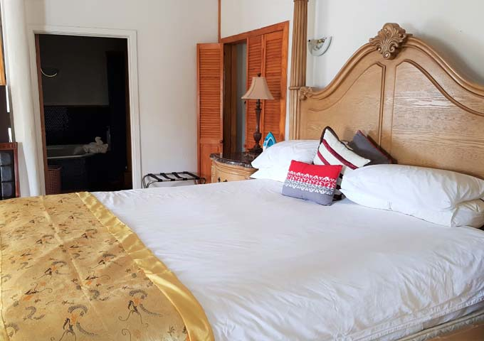 Each suites have different layouts and decor.