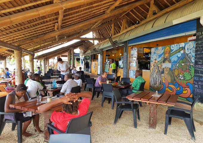 Nambawan Café is located in downtown Port Vila.