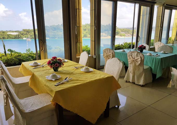 Golden Port Restaurant nearby offers great views and Chinese food.