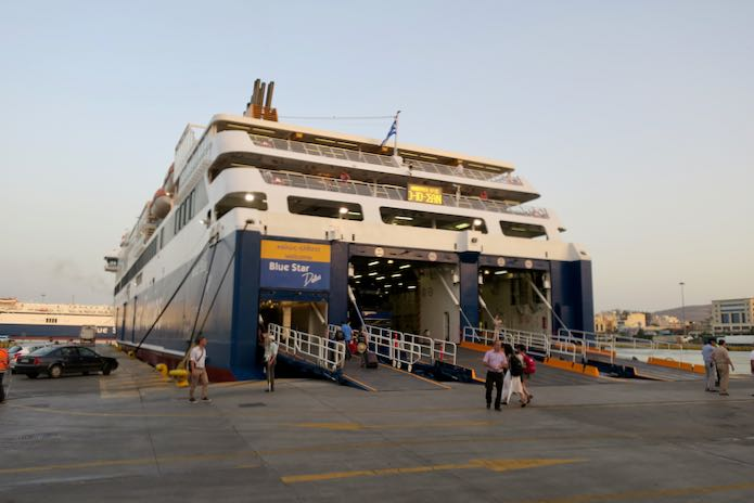 How To Get To Santorini, Greece by Ferry