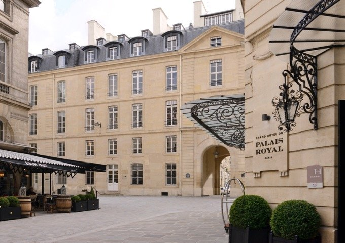 Boutique luxury hotel Paris 1st