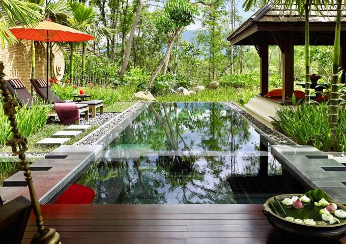 Best luxury hotel in Chiang Mai countryside.