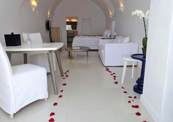 The Senior Suite is popular for couples on their honeymoon.