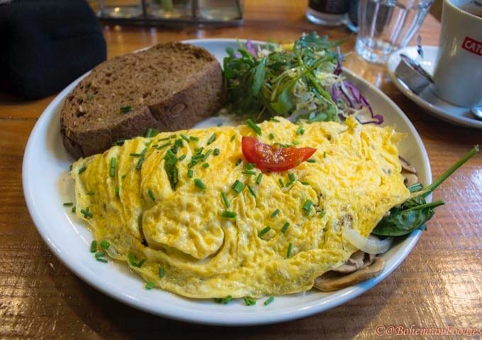 Omelegg is a popular brunch joint famous for its egg dishes.