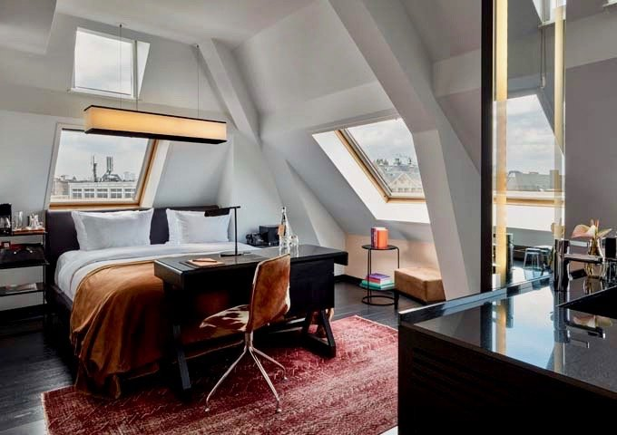 Sir Deluxe rooms are comfortable, and most offer street views.