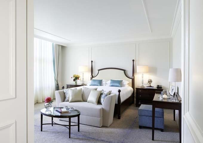 The luxurious Bretano Suite is very spacious.