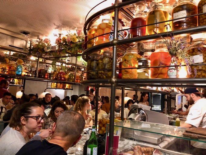 The best trendy restaurants in Paris.