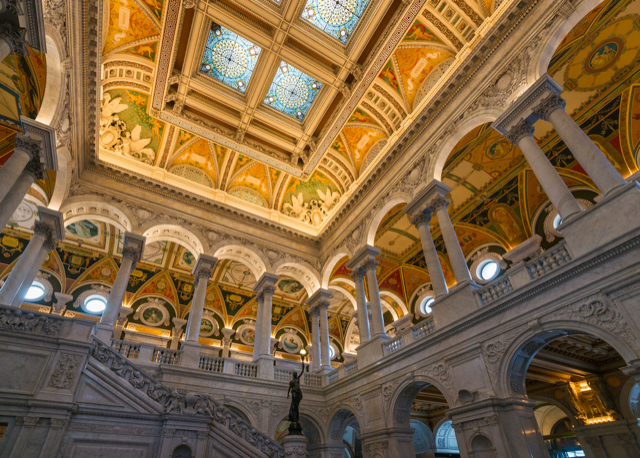 Visiting the Library of Congress with Kids