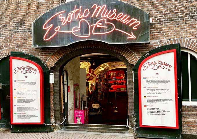The Erotic Museum is an expensive and quirky experience.