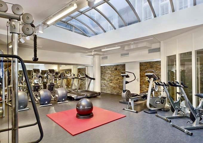 The Active Club gym is well-equipped and open 24x7.