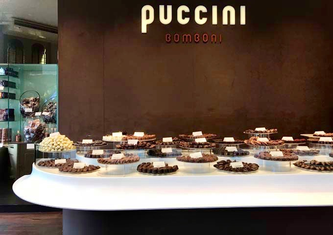 Puccini Bomboni sells some of Amsterdam's best handmade chocolates.