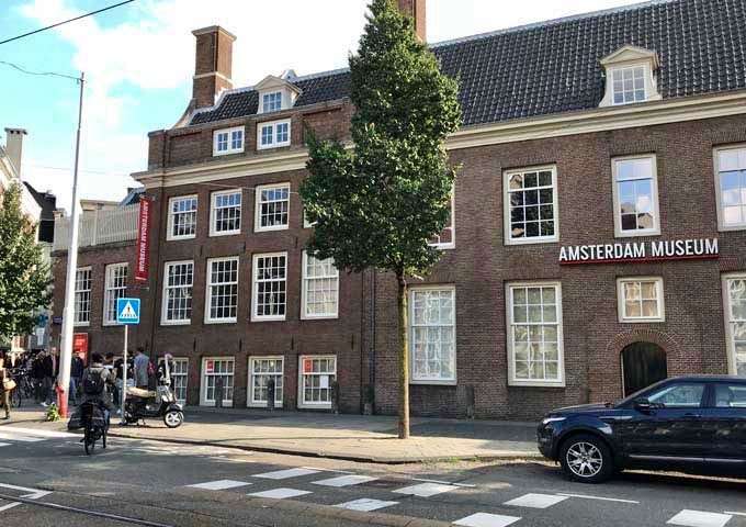 The Amsterdam Museum showcases 1,000 years of the city's history.