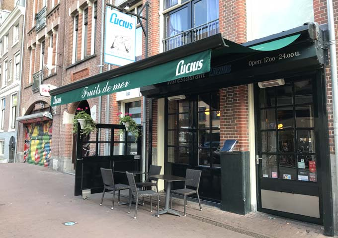 Lucius is locally renowned for its seafood dishes and romantic ambience.