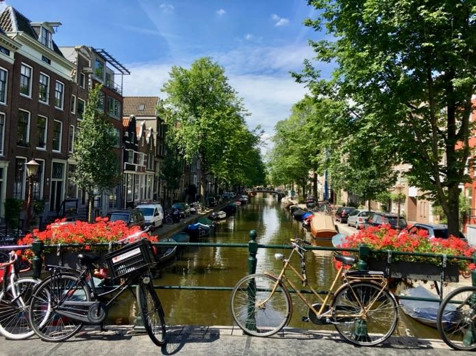 The best time of year to go to Amsterdam.