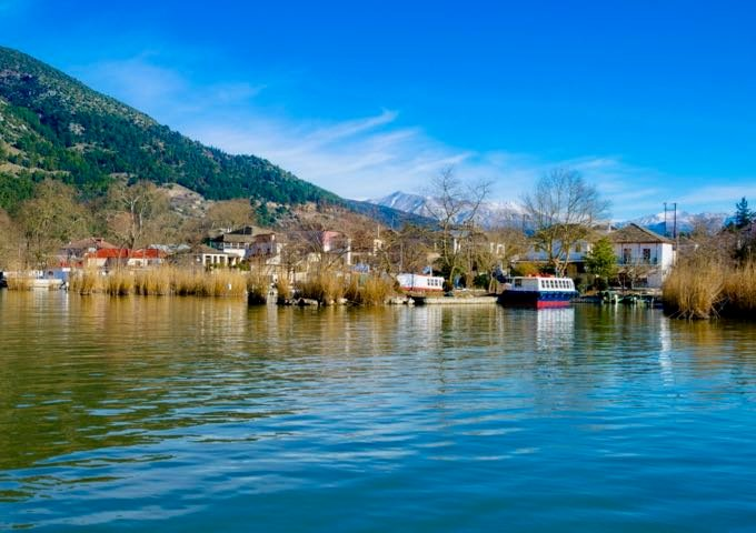 Best Places in Ioannina in Northwest Greece.