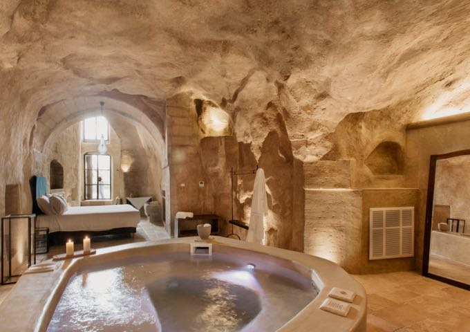 Boutique hotel in Matera, Italy.
