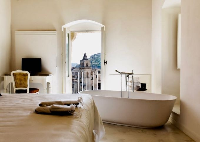 Luxury resort in Matera.