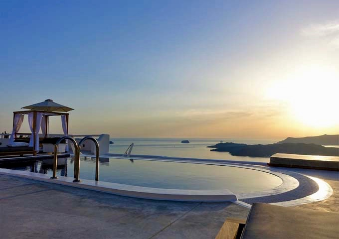 Celestia Grand Villas in Santorini.