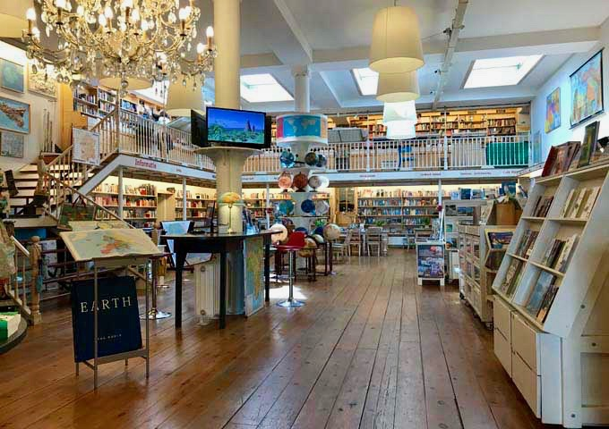 Pied a Terre is Europe's largest travel bookstore.