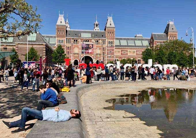 Museumplein features 3 extraordinary museums.