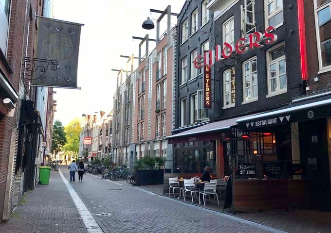 Café Eijlders is a local institution known for its beer and poetry readings.
