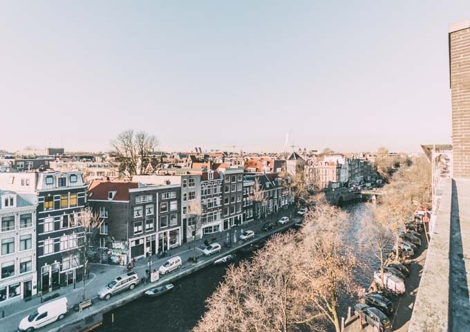 The Prinsegracht Suite has a large canal-facing private terrace.