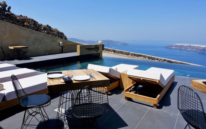 Andronis Concept Wellness Hotel in Santorini.